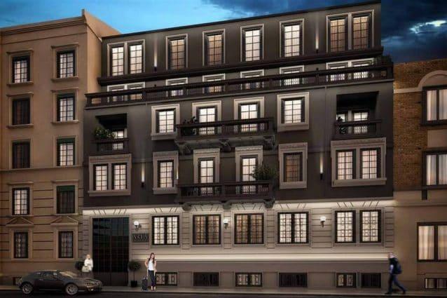 Il rendering del palazzo nero in via Farneti (Foto dalla pagina Facebook dell'assessore Massimo Scarinzi)