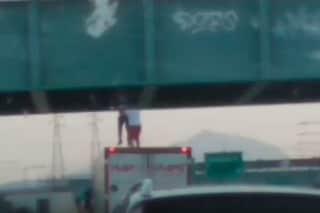 Pozzuolo Martesana, 19enne tenta suicidio lanciandosi da un cavalcavia: camionista lo salva