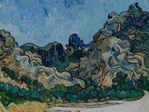 Vincent Van Gogh – Montagne a Saint Remy, 1889