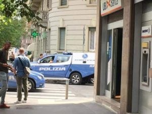 La banca presa d'assalto dai rapinatori