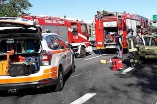 Incidenti e allagamenti: traffico in tilt sulla Tangenziale Est di Milano