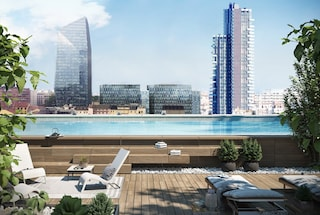 Giardini d'inverno, il palazzo dove andrà a vivere Icardi, e i nuovi super grattacieli di Milano
