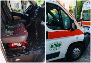 Milano, raid notturno contro le ambulanze: danneggiati tre mezzi della Croce Verde di Baggio