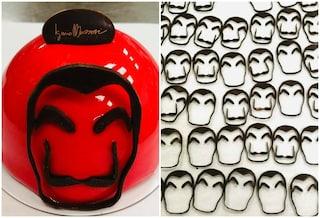 Una linea di dolci ispirati alla Casa de Papel: l'omaggio di Iginio Massari alla serie tv