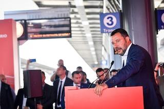 """Potenziata la stazione di Rogoredo: più treni e maggiore sicurezza. Salvini: """"Reati sono in calo"""""""