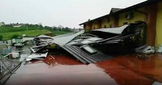 Maltempo, tromba d'aria a Brescia: grandine e temporali su tutta la provincia