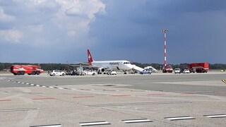Problema tecnico, aereo costretto all'atterraggio poco dopo il decollo da Malpensa