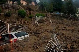 Maltempo, nubifragio si abbatte sull'Alta Valsassina: fiume di fango e detriti travolge Casargo