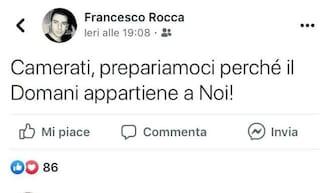 """Milano, polemiche per il post di un consigliere di Municipio: """"Camerati, prepariamoci"""""""