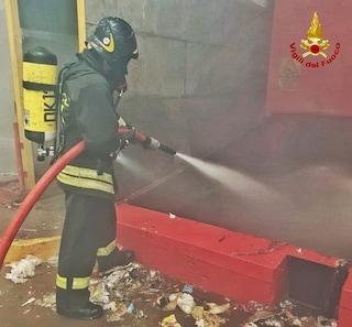 Incendio in un impianto di rifiuti a Fombio (Lodi): in fiamme materiali plastici