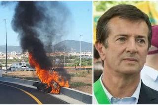 Incidente in Sardegna per Giorgio Gori: in fiamme lo scooter del sindaco di Bergamo