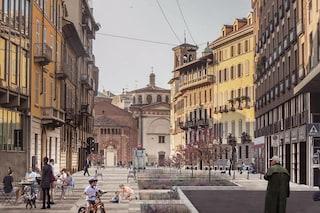 Milano, un percorso pedonale tra stazione M4 Sforza e fermata M3 Missori: il progetto fa discutere