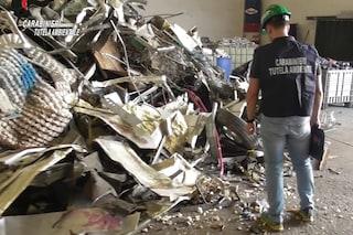 Lissone, scoperta discarica abusiva in un capannone: sequestrati 50 metri cubi di rifiuti speciali