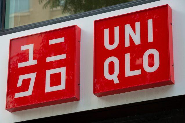 Il logo del brand Uniqlo