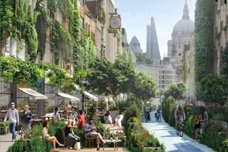 La Milano del futuro? Poche macchine, alberi e un prato al posto dell'asfalto