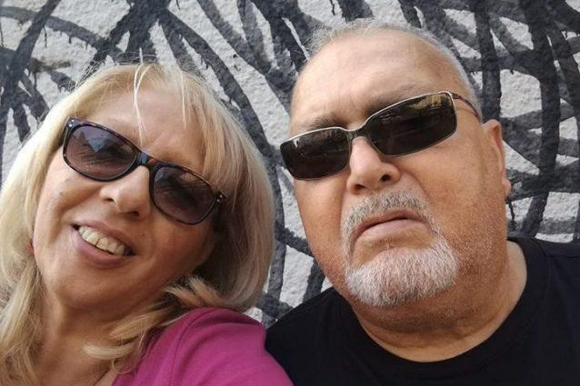 La vittima Adriana Signorelli e il marito arrestato per l'omicidio, Aurelio Galluccio