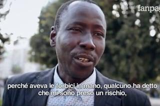 """Samba, l'eroe che ha fermato l'attentatore alla stazione Centrale: """"Vorrei la cittadinanza italiana"""""""