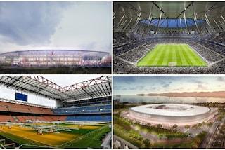 Milano, due progetti in gara per San Siro: le ipotesi per il nuovo stadio Meazza