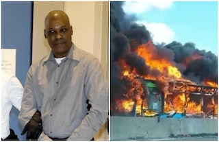 Bus incendiato a San Donato, autista Sy condannato a 24 anni per terrorismo