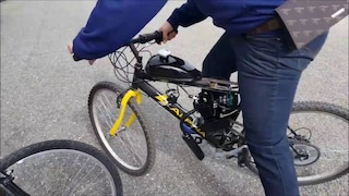 Trasforma la bici in motorino, poi si schianta: settemila euro di multa per un ragazzino di 16 anni