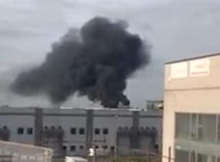 Incendio in una fonderia di Costa di Mezzate: ustionato un operaio dell'azienda