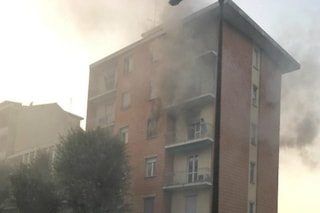 Voghera, incendio in un appartamento: paura e sei persone intossicate