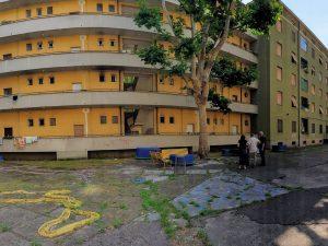 Il cortile di via Cesana, a Milano, farà da sfondo a una commedia lirica