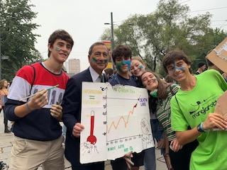 Friday for future a Milano, anche il sindaco Sala in marcia per difendere il pianeta