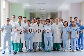 L'ospedale Niguarda di Milano è da record: raggiunto il traguardo dei duemila trapianti di fegato