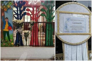 Milano, oggi i funerali del piccolo Leonardo, morto a 5 anni cadendo dalle scale a scuola