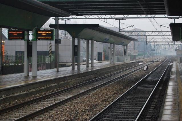 La stazione di Garbagnate Milanese