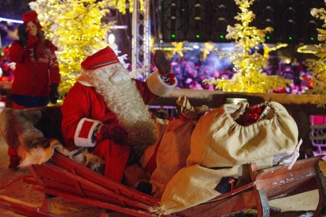 Babbo Natale (Archivio Getty images)