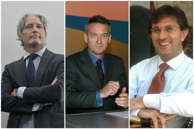 Alberti Baldan, Tom Mockridge e Vincenzo Novari