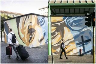 Milano, il Municipio 8 si colora con i nuovi murales del 'Signor G' e 'Piazza delle culture'
