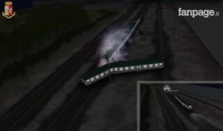 Treno deragliato a Pioltello, la ricostruzione in 3D dell'incidente ferroviario che causò tre morti