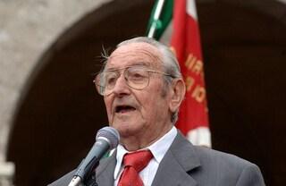 È morto Albino Previtali: il partigiano Luciano era l'ultimo ancora in vita a Dalmine