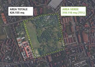 Milano, la nuova Piazza d'Armi disegnata dal Pgt: 75 per cento di verde, ma i comitati protestano