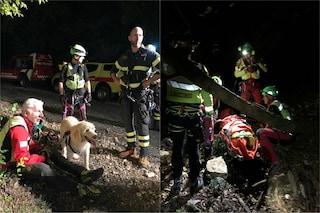 Scivola nel greto del torrente per recuperare il cane caduto: turista salvata sul Garda