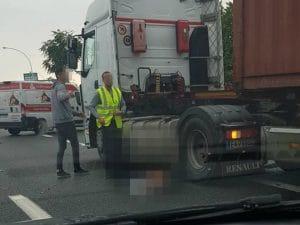 L'incidente (Foto da Facebook)