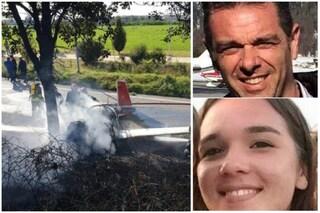 Incidente aereo Orio al Serio: l'ultimo saluto a Stefano, papà pilota morto con la figlia Marzia