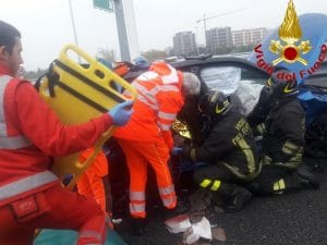 Incidente in Tangenziale a Milano