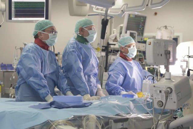 L'intervento al Niguarda (Foto dal sito dell'ospedale)