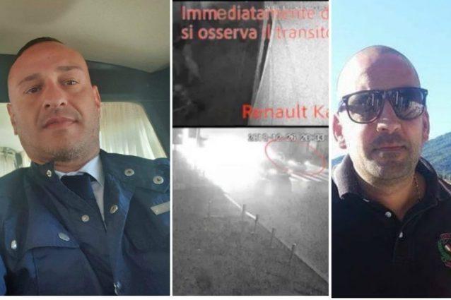 A sinistra Fabio Manduca, accusato dell'omicidio volontario di Daniele Belardinelli (a destra)