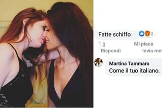 """Erika e Martina insultate per la foto di un bacio: """"Combattiamo e deridiamo l'omofobia su Instagram"""""""