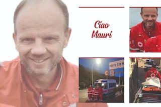 """Bergamo, dolore per la morte di Maurizio, volontario della Croce rossa: """"Una vita per gli altri"""""""