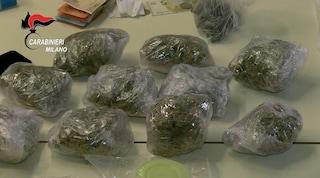 Bollate, arrestata una donna di 60 anni: nascondeva nelle pareti di casa quasi 2 chili di droga