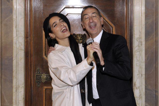 Levante e il sindaco di Milano Giuseppe Sala