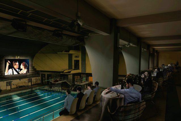 La piscina Cozzi