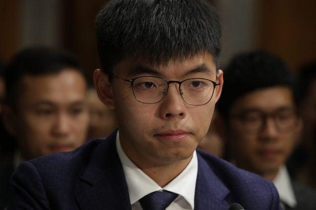 Joshua Wong (Foto Getty)