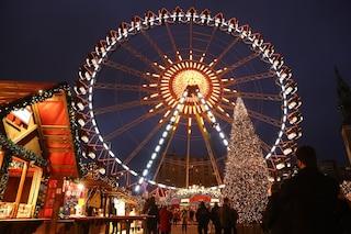 Bergamo, dal 24 novembre arrivano la ruota panoramica e l'albero di Natale